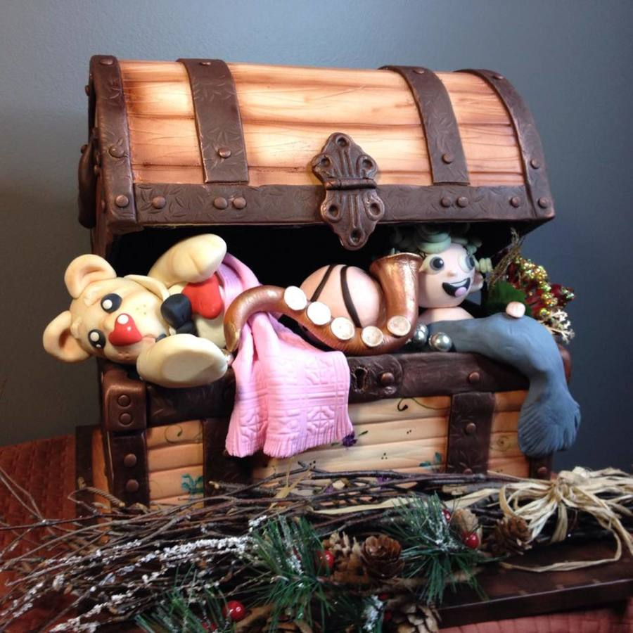 Christmas Toy Box : Christmas toy chest cakecentral