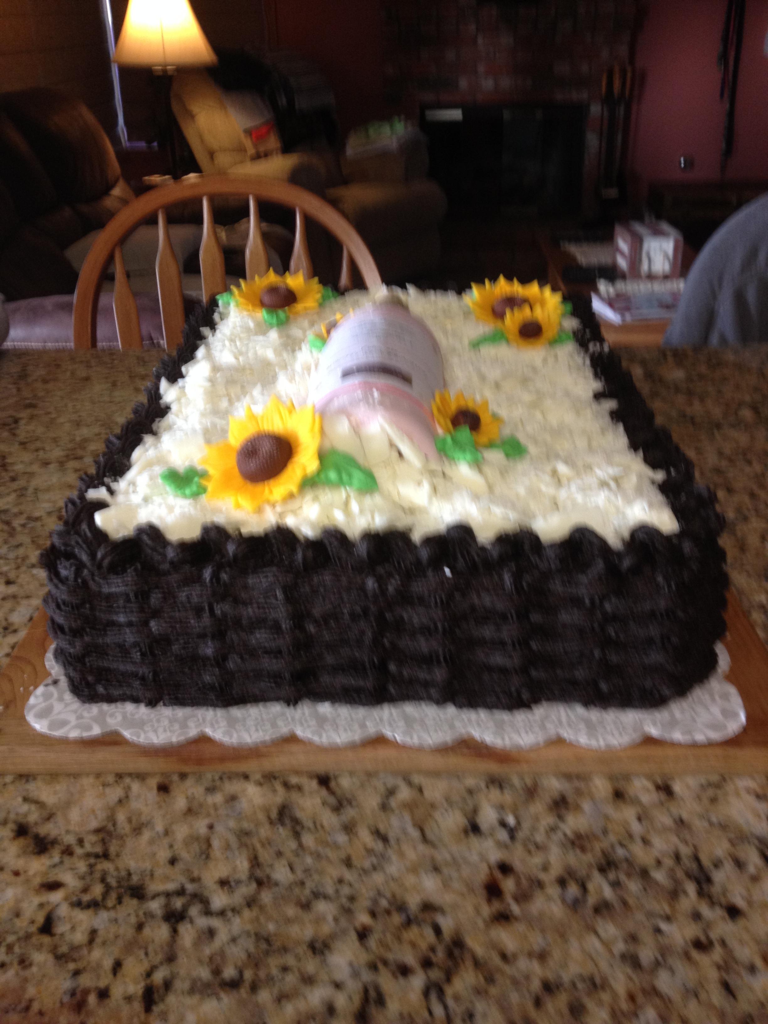 Aged To Perfection 100 Year Birthday Cake Chocolate Fudge Cake