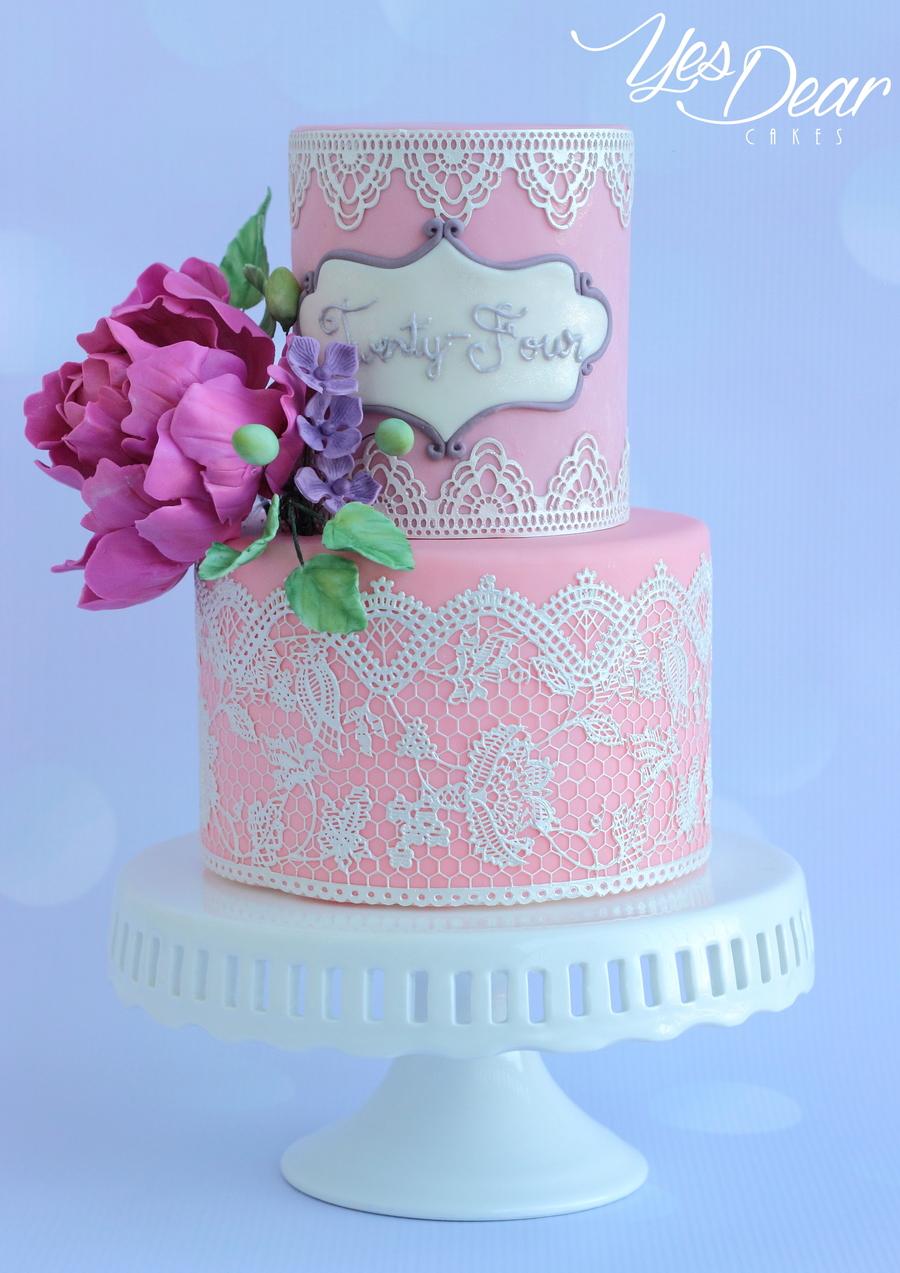Fantastic Elegant Birthday Cake Cakecentral Com Personalised Birthday Cards Veneteletsinfo