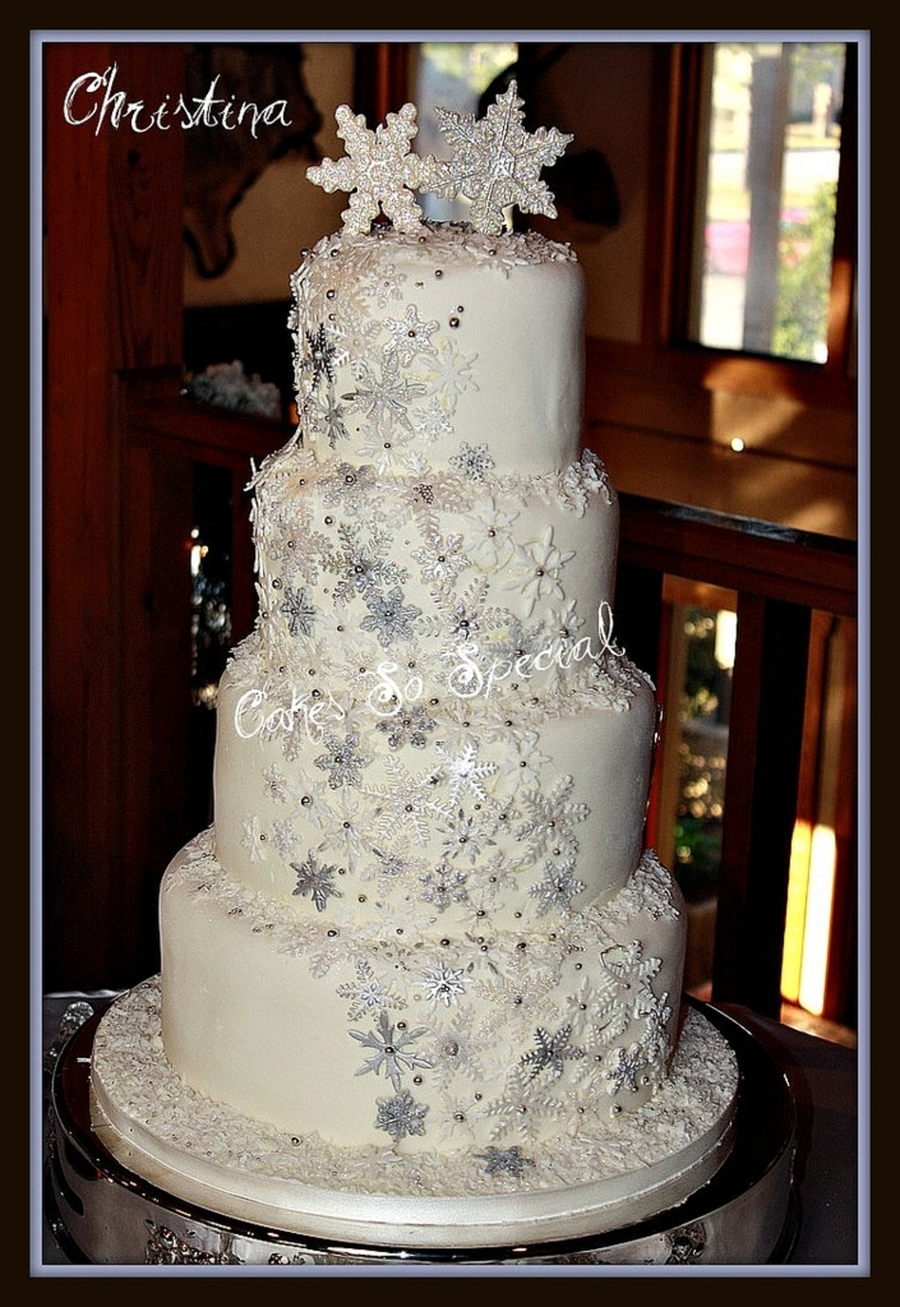 Winter Wonderland Cake Designs