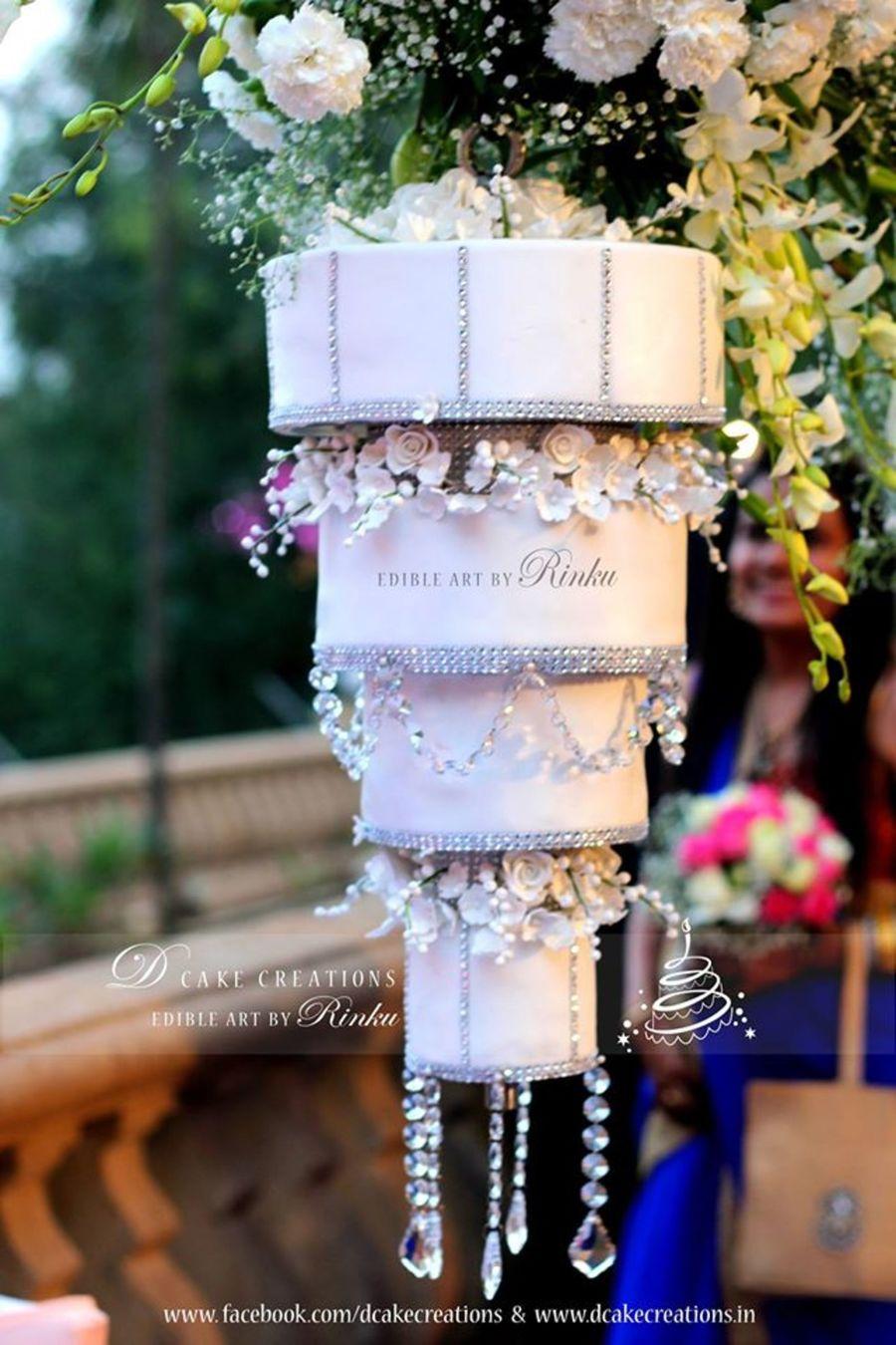 Chandelier Wedding Cake Cakecentral Com