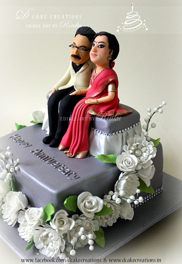 900 953918ezOq 25th wedding anniversary cake Images Of Th Wedding Anniversary Cakes