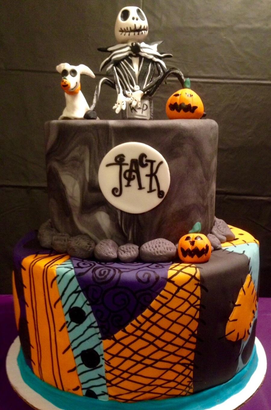 Jack Skellington Cake ...