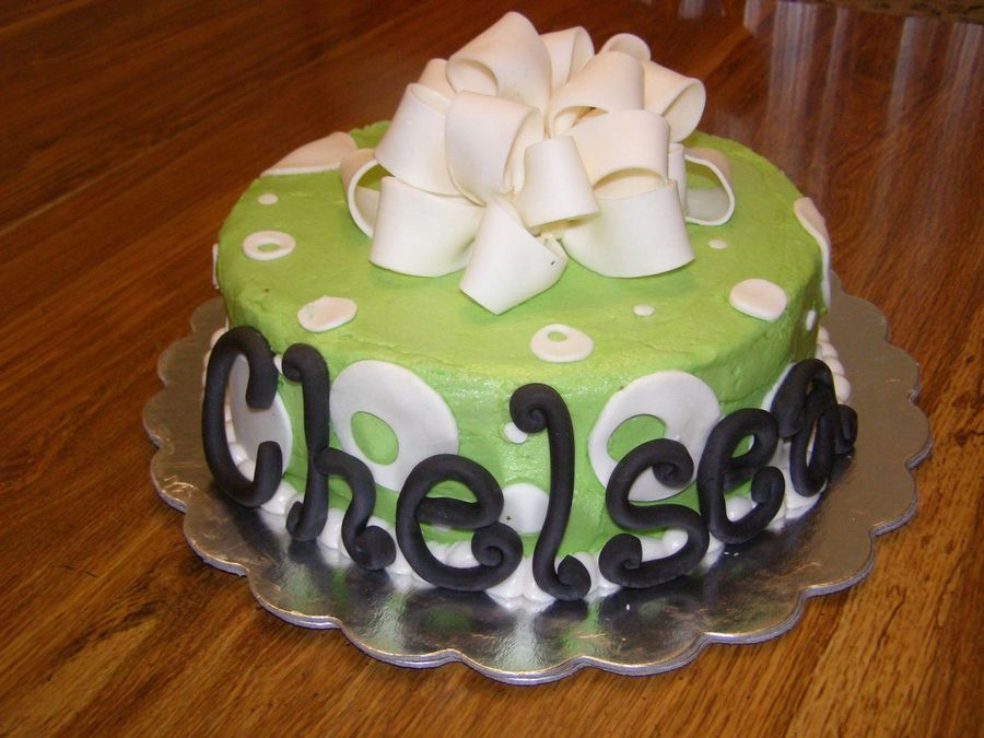 Chelsea's 17Th Birthday  on Cake Central