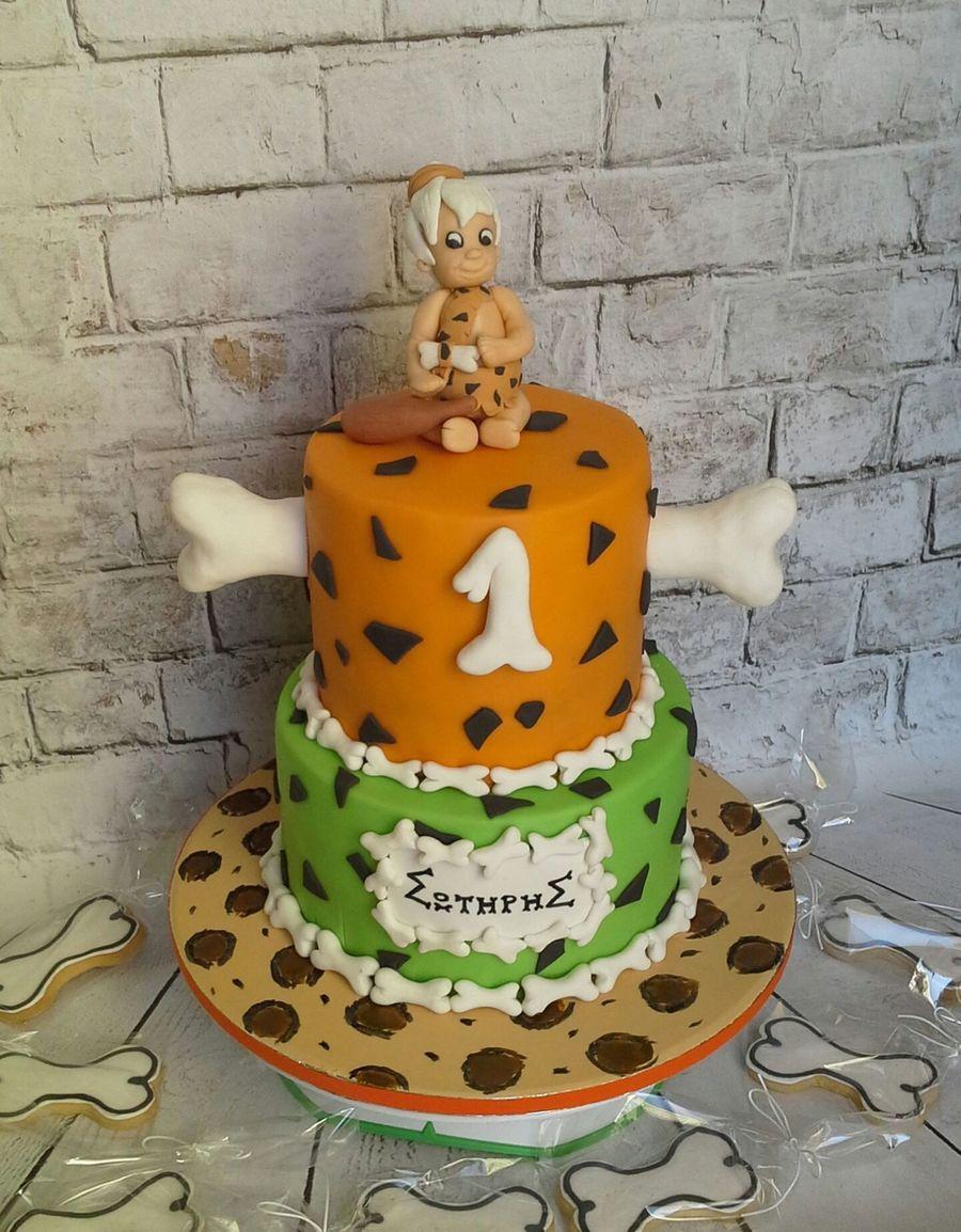 Pebbles Flintstone Cake