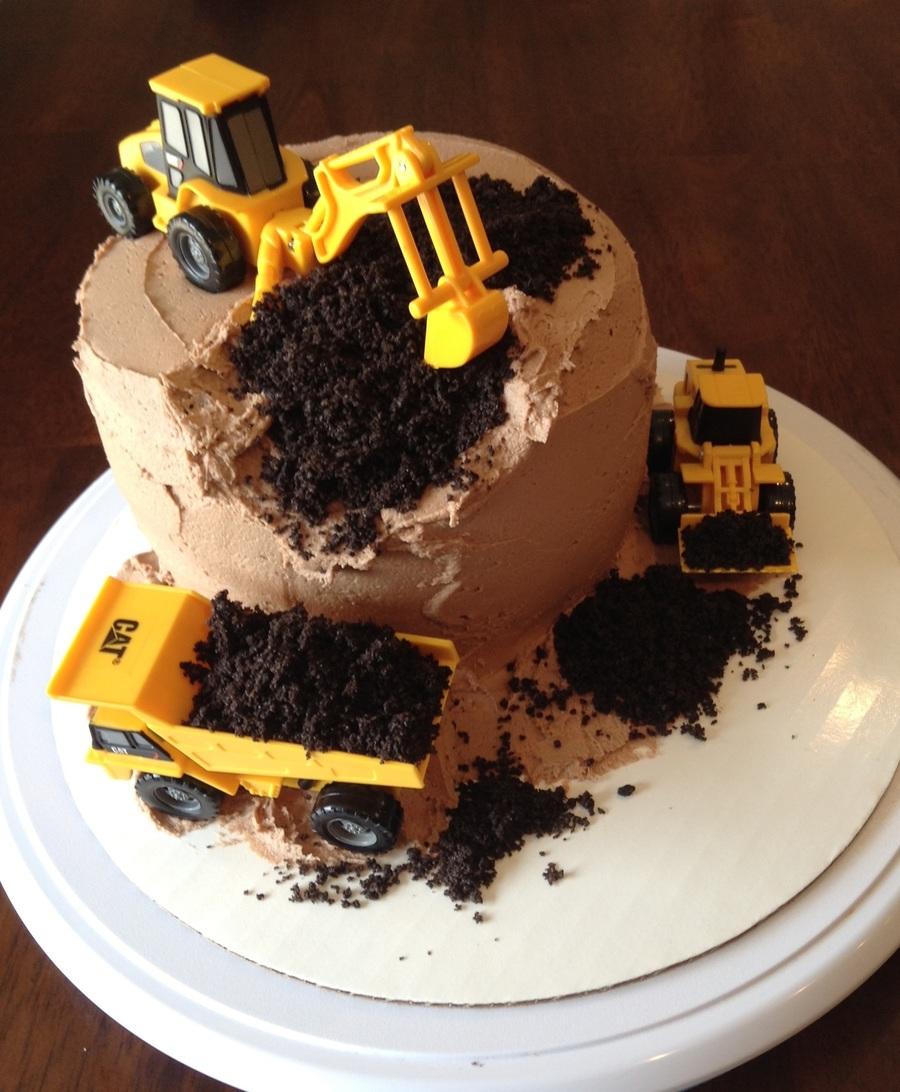 Digger Cake - CakeCentral.com
