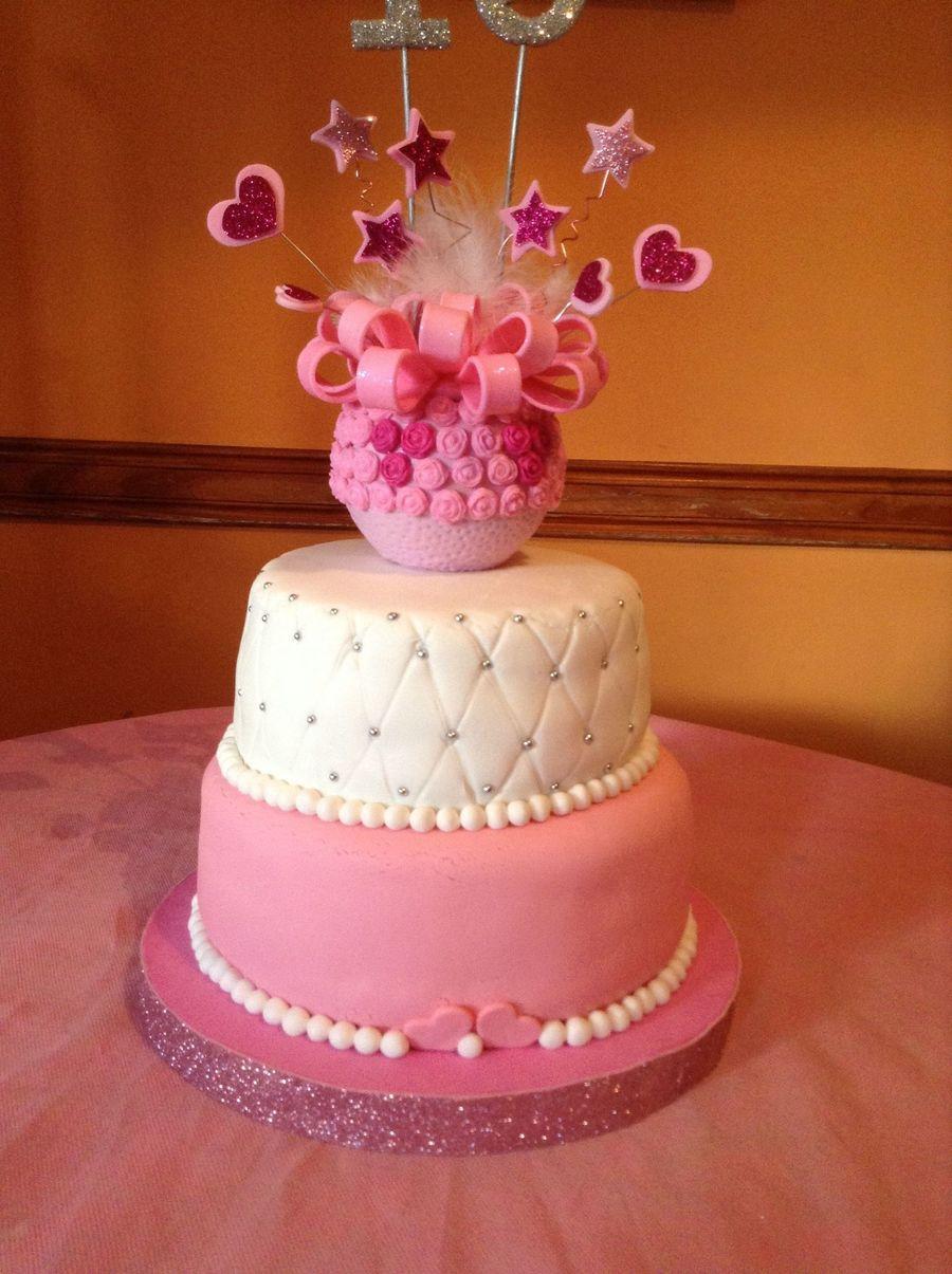 Torta para 15anos adorno realizado en porcelana fria con - Apliques de pared clasicos ...