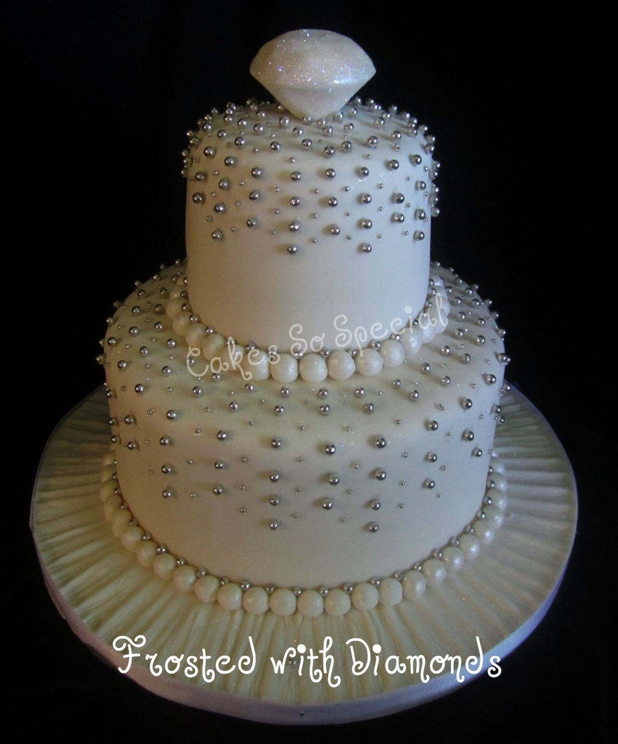 Dripping With Diamonds on Cake Central