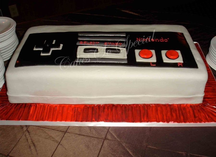 Nintendo Game Controller on Cake Central