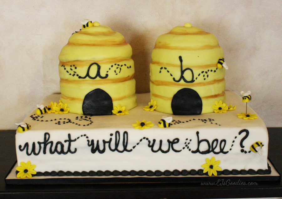 What Will We Bee Gender Reveal Cake On Central