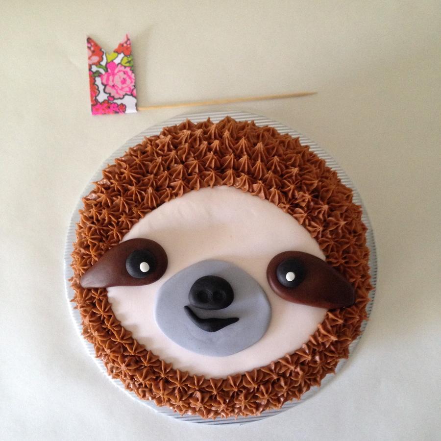 Sloth Cake Tutorial