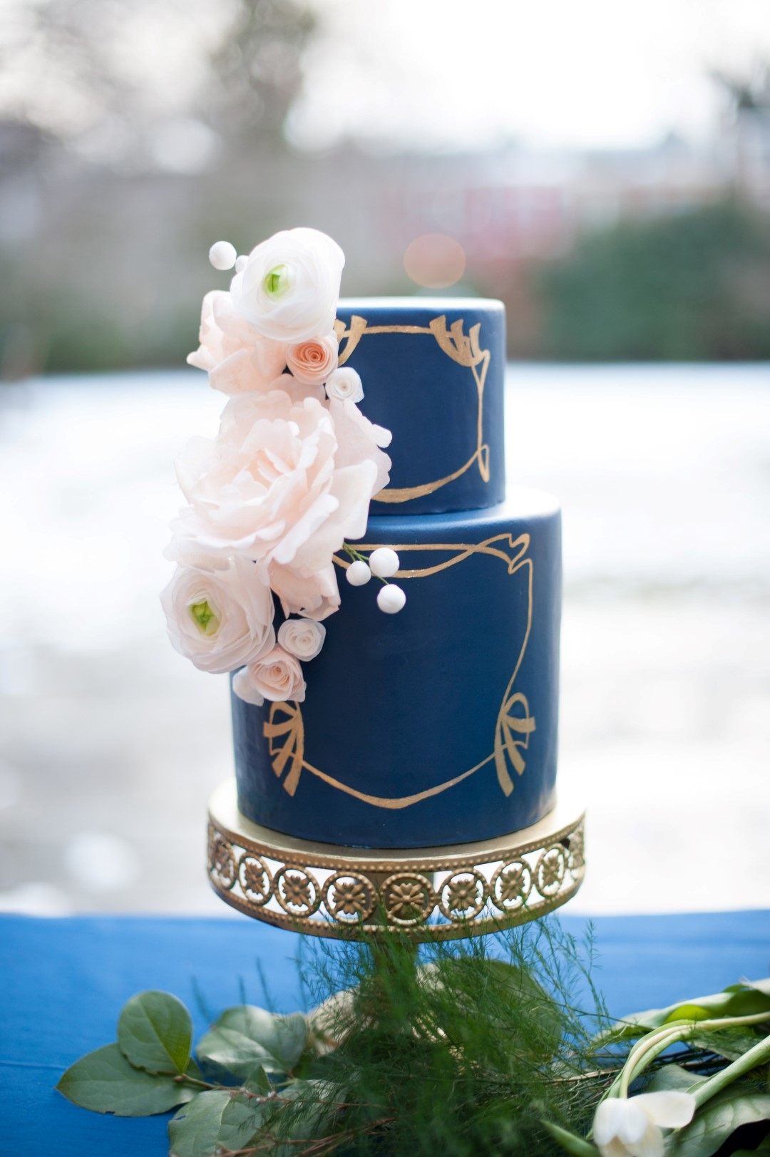 Art Nouveau Wedding Cakes CakeCentralcom - Wedding Cake Richmond Va
