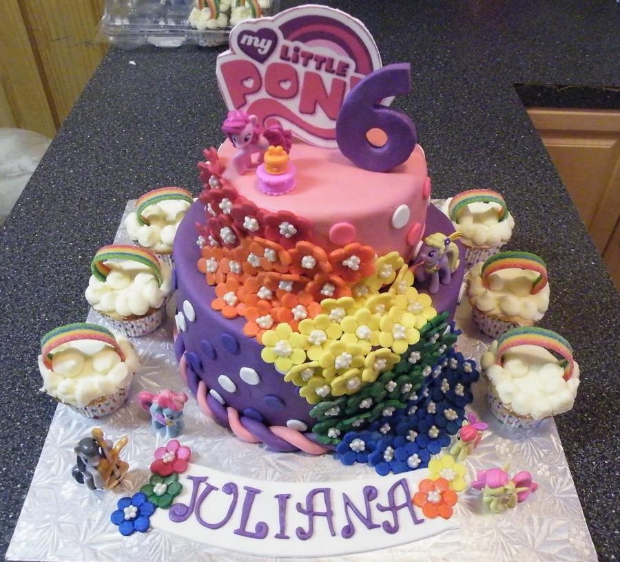 Fabulous My Little Pony Birthday Cake Cakecentral Com Funny Birthday Cards Online Ioscodamsfinfo