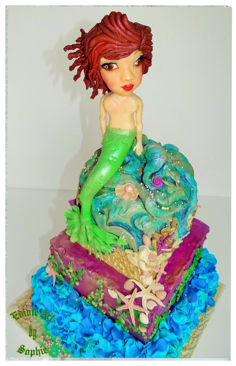 The 'not So Little' Mermaid ! on Cake Central