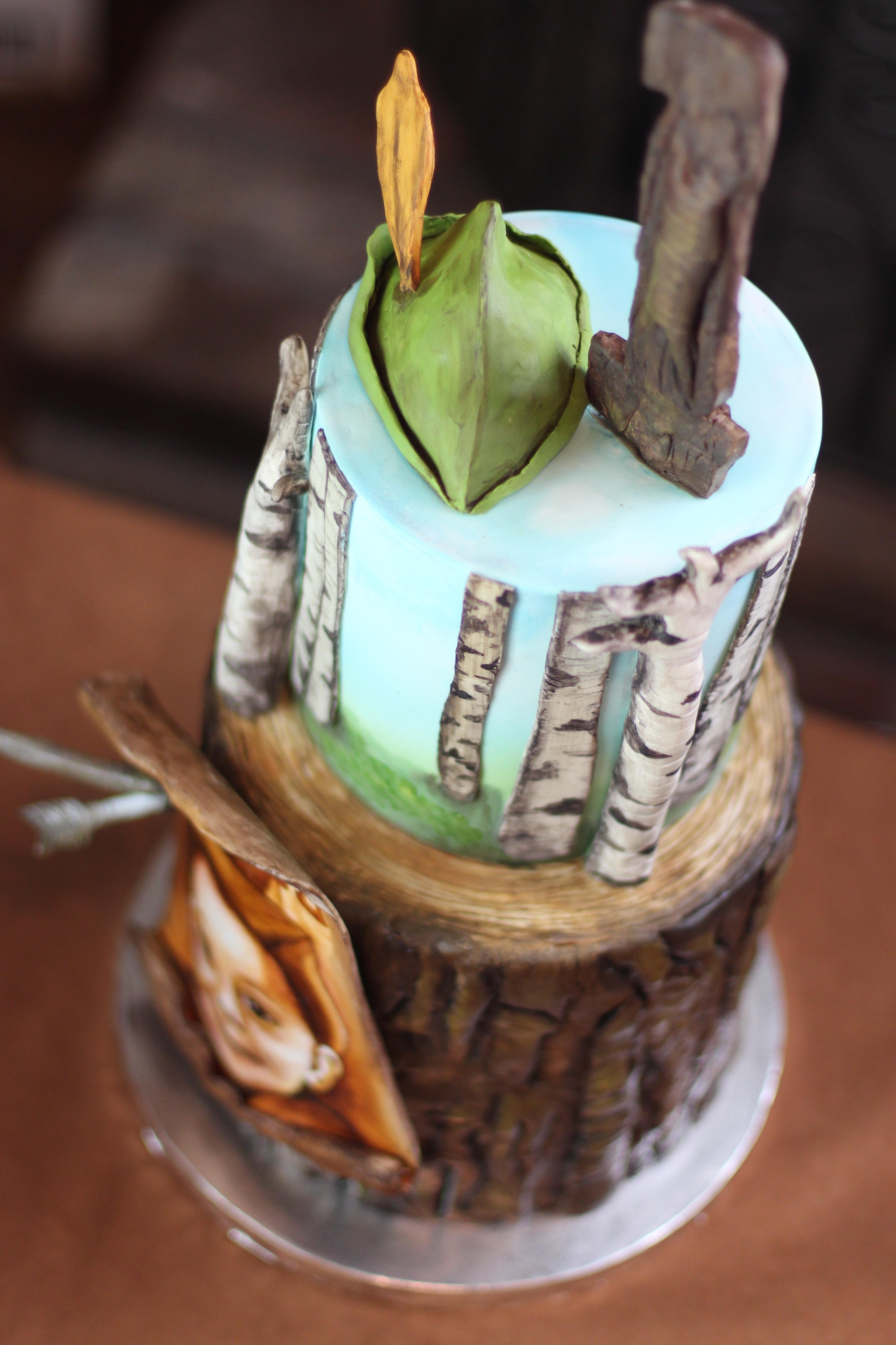 Robin Hood Inspired Cake Cakecentral