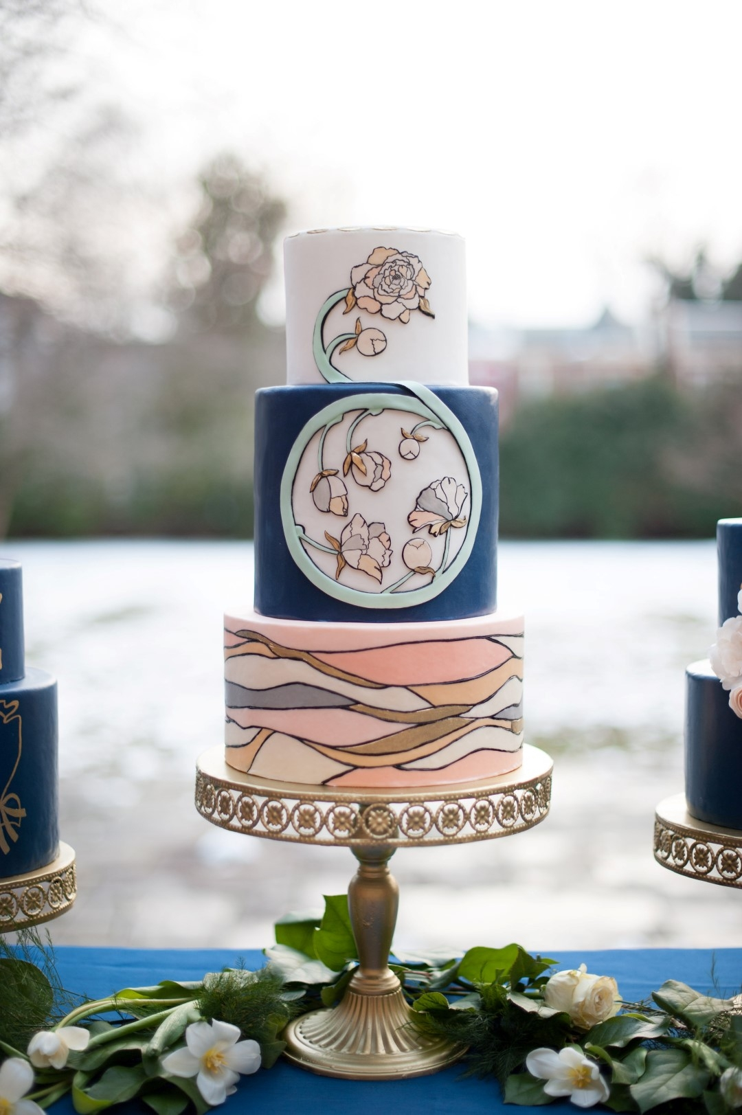 art nouveau wedding cake nouveau wedding cakes cakecentral 10858