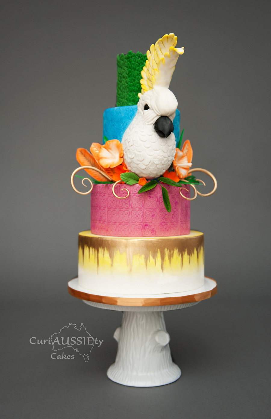 Cockatoo Carnival Cake on Cake Central
