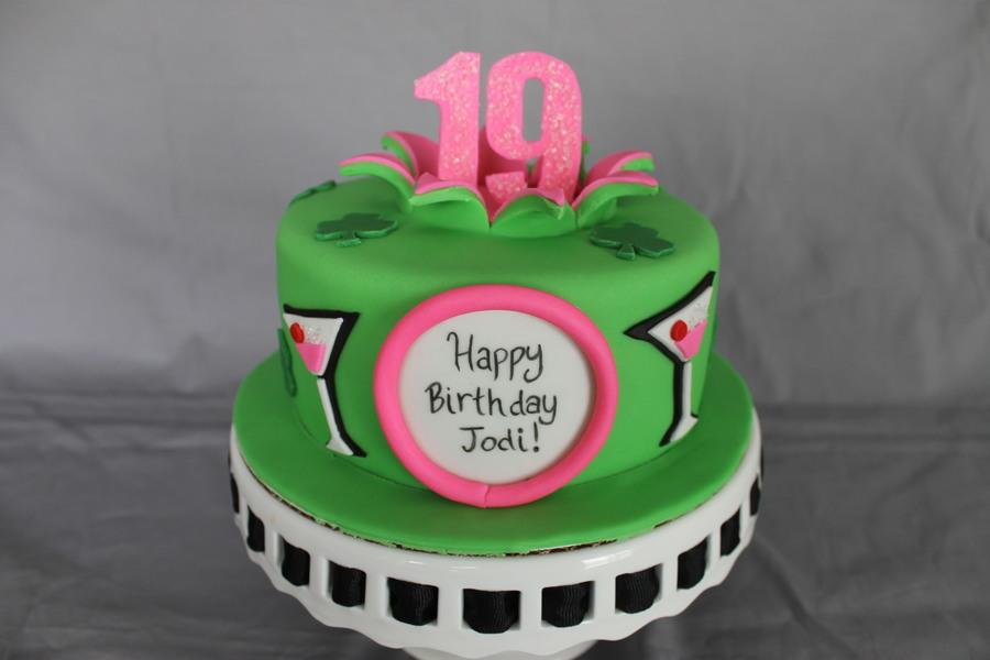 Margaritast Patricks Day Birthday Cake Cakecentral