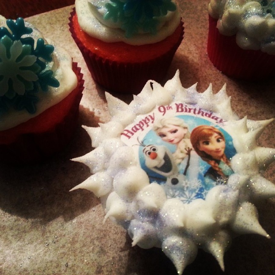 Frozen Cupcakes on Cake Central