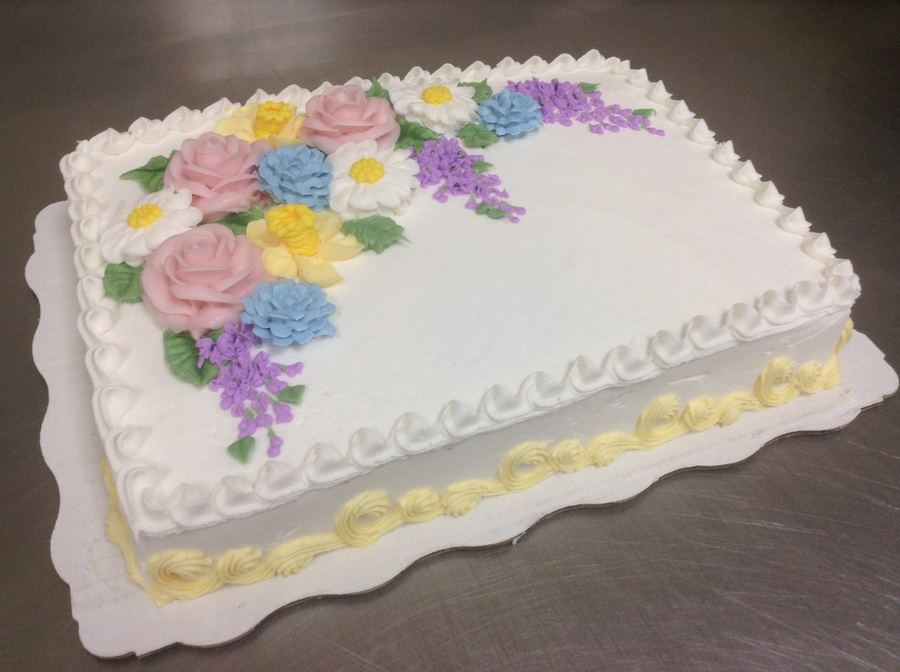 Spring Buttercream Flowers Cakecentral Com