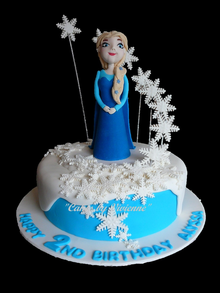 Elsa Frozen Birthday Cake Recipe