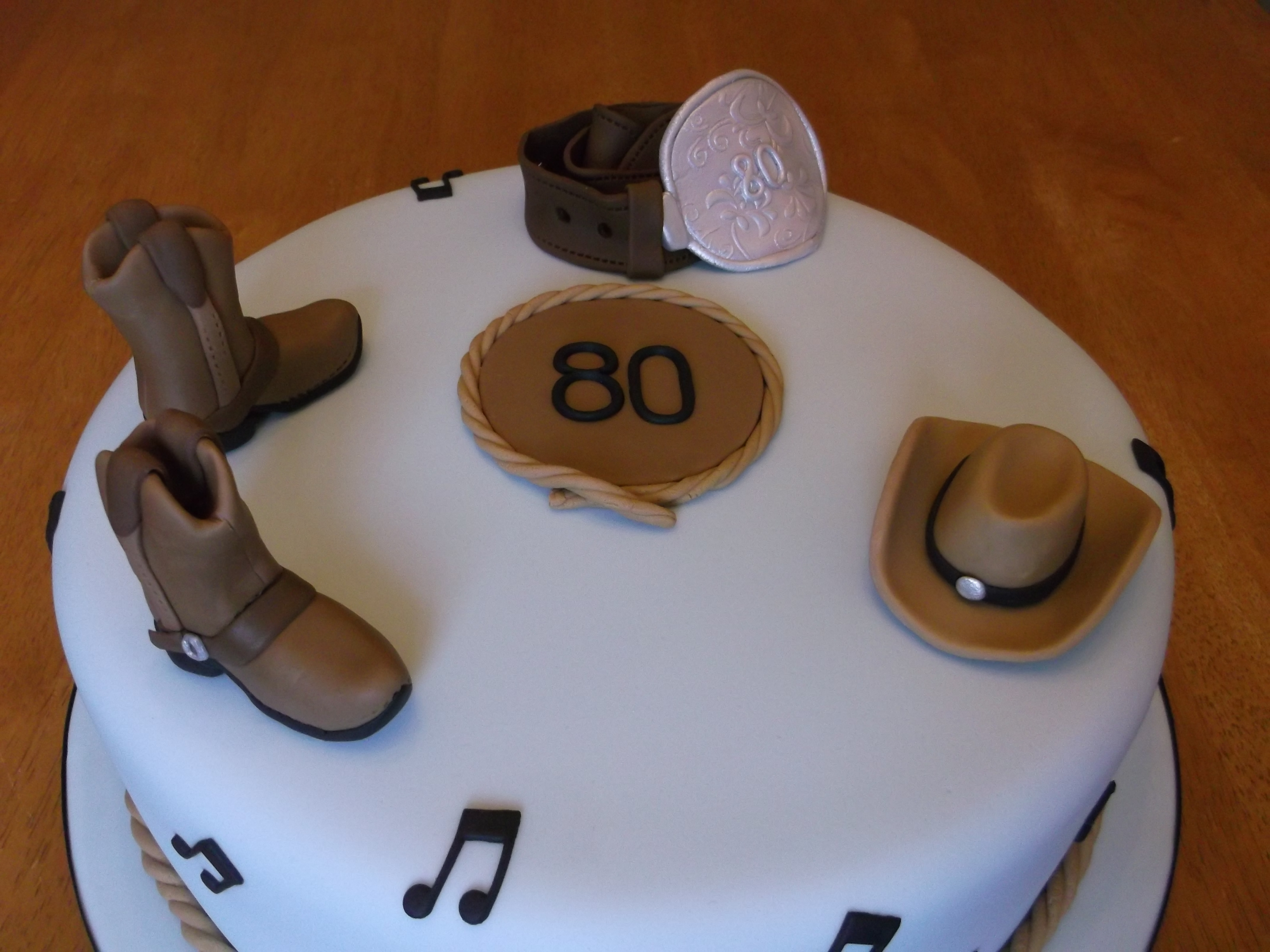 Wondrous Country And Western Cake Cakecentral Com Funny Birthday Cards Online Barepcheapnameinfo