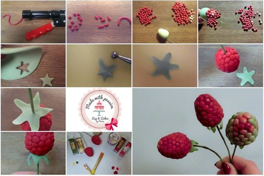 Raspberry Pictorial on Cake Central