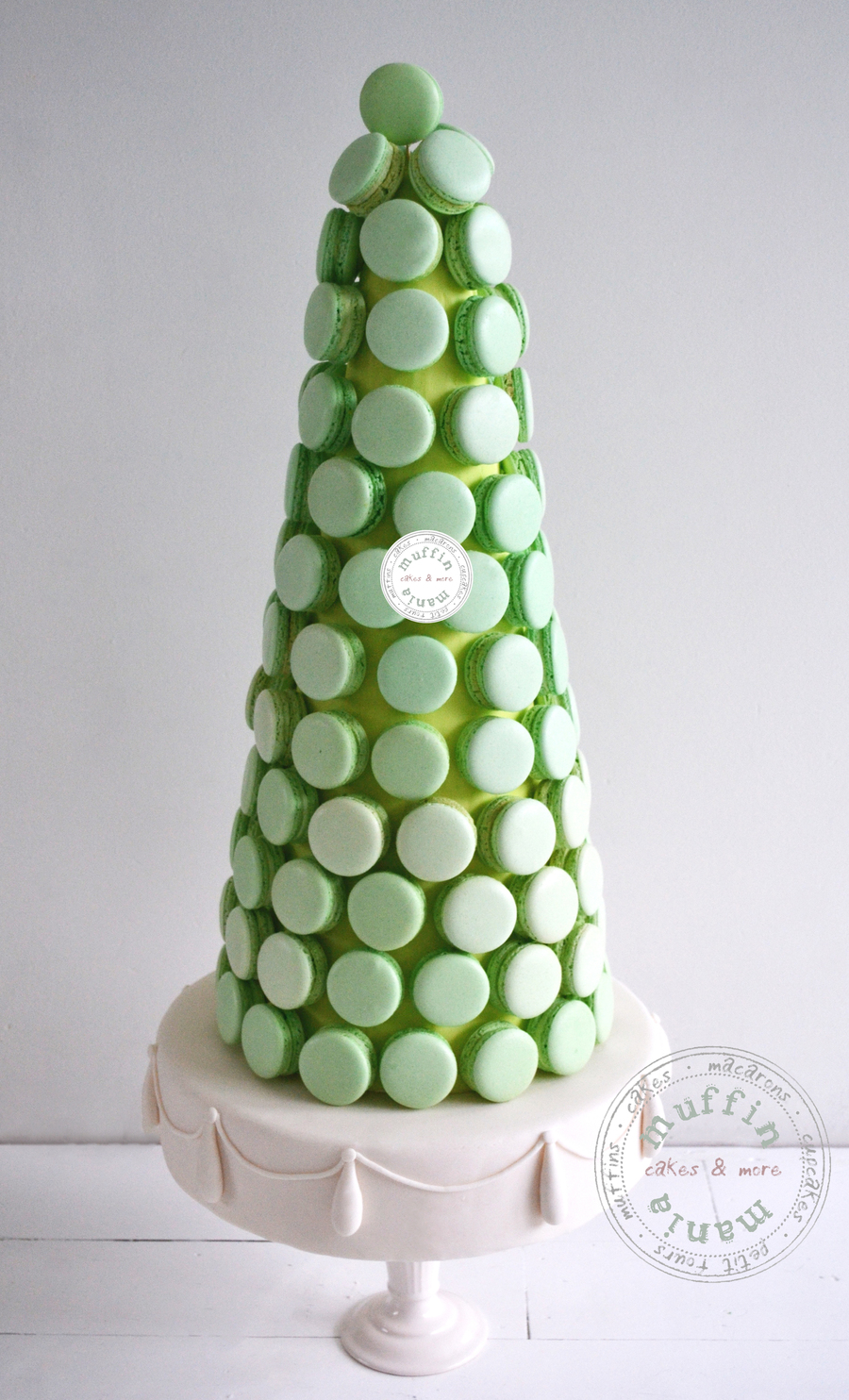Macaron Tower on Cake Central