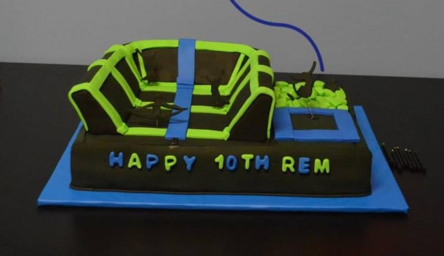 Rem S Trampoline Park Cake Cakecentral Com