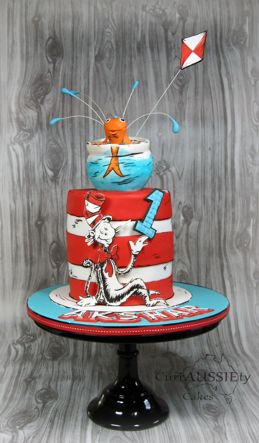 Dr Seuss Cat In The Hat Cake on Cake Central