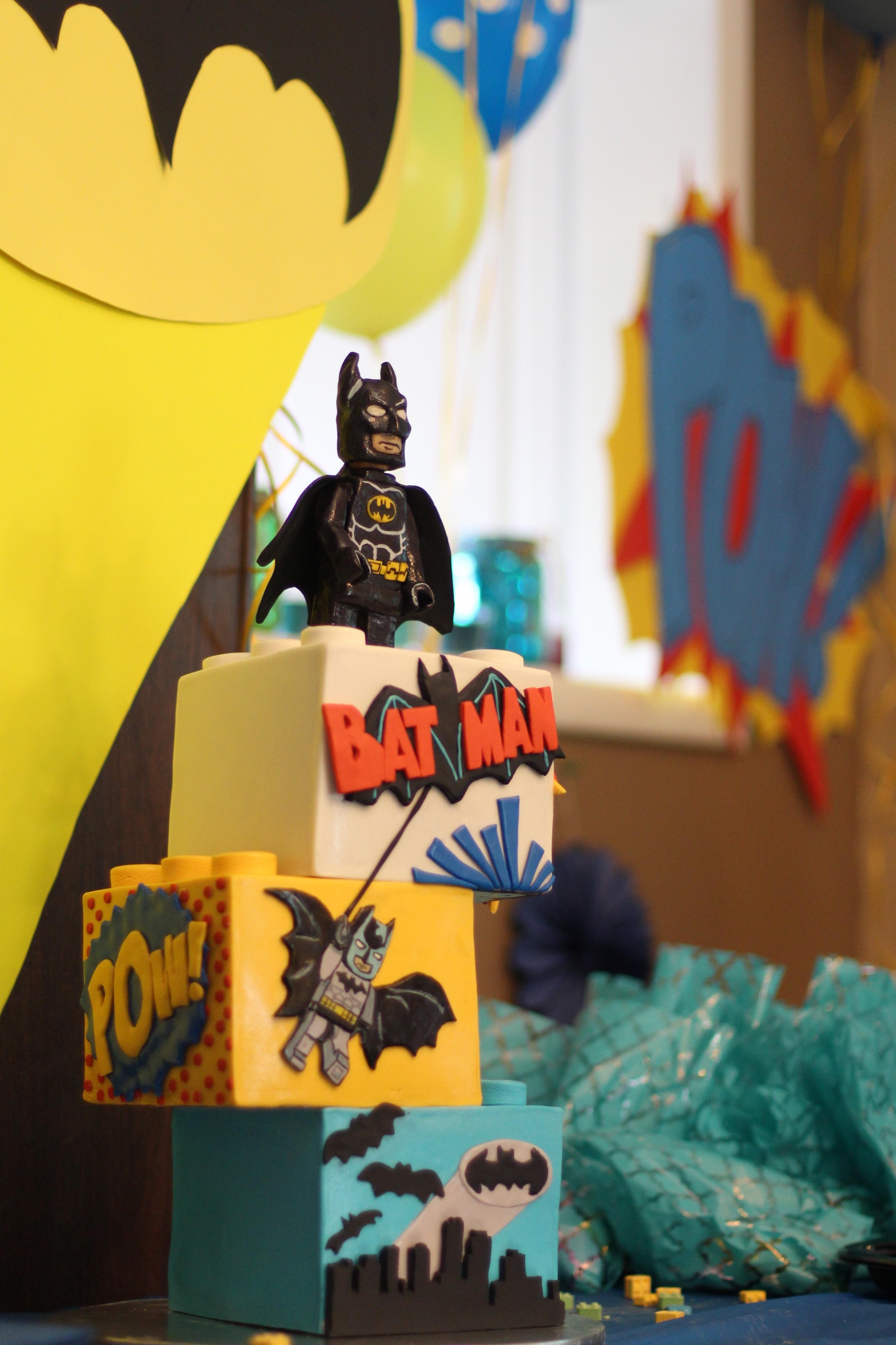 Lego Batman Cake Cakecentral Com
