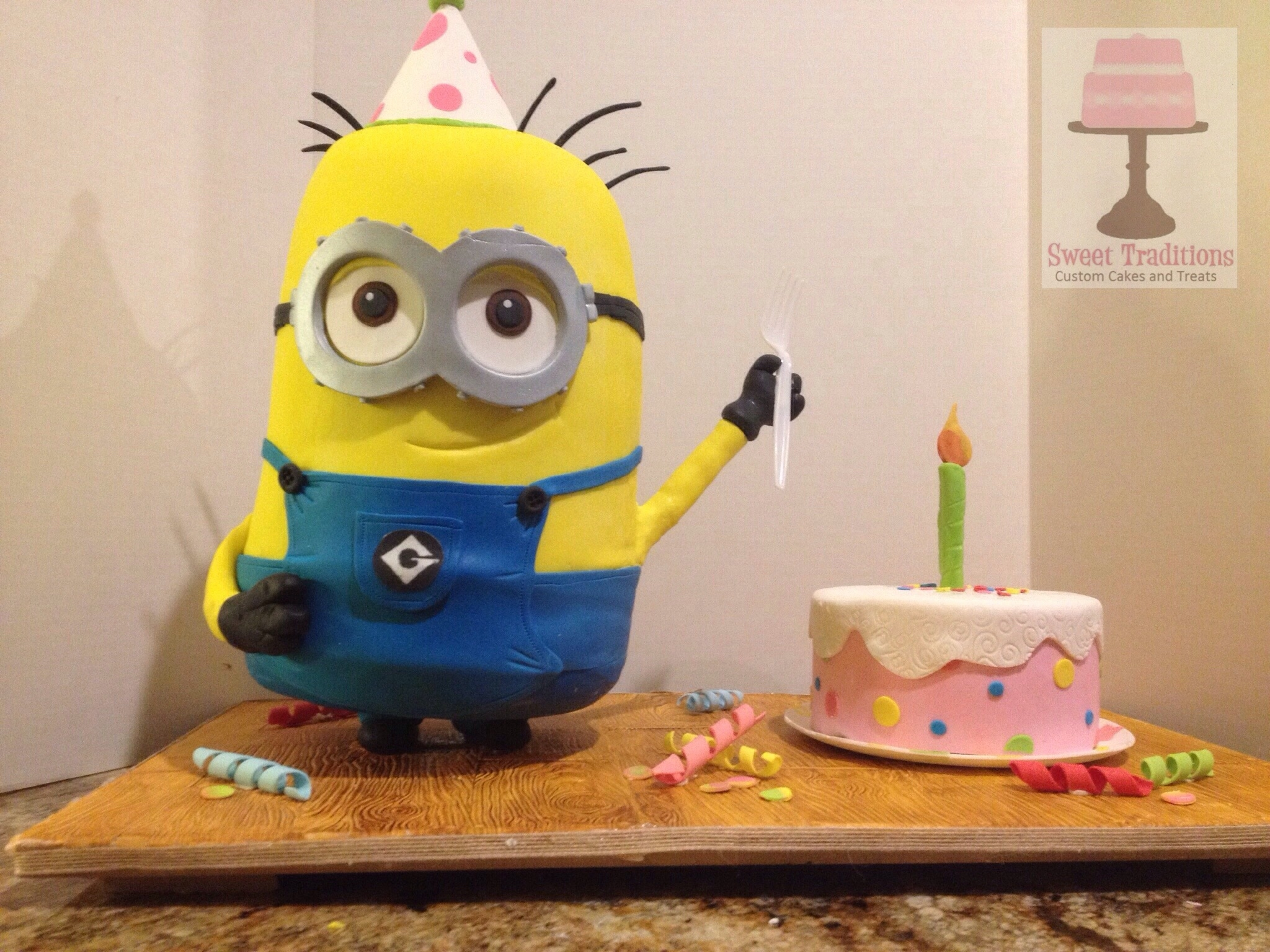 Minion Dave's Birthday on Cake Central