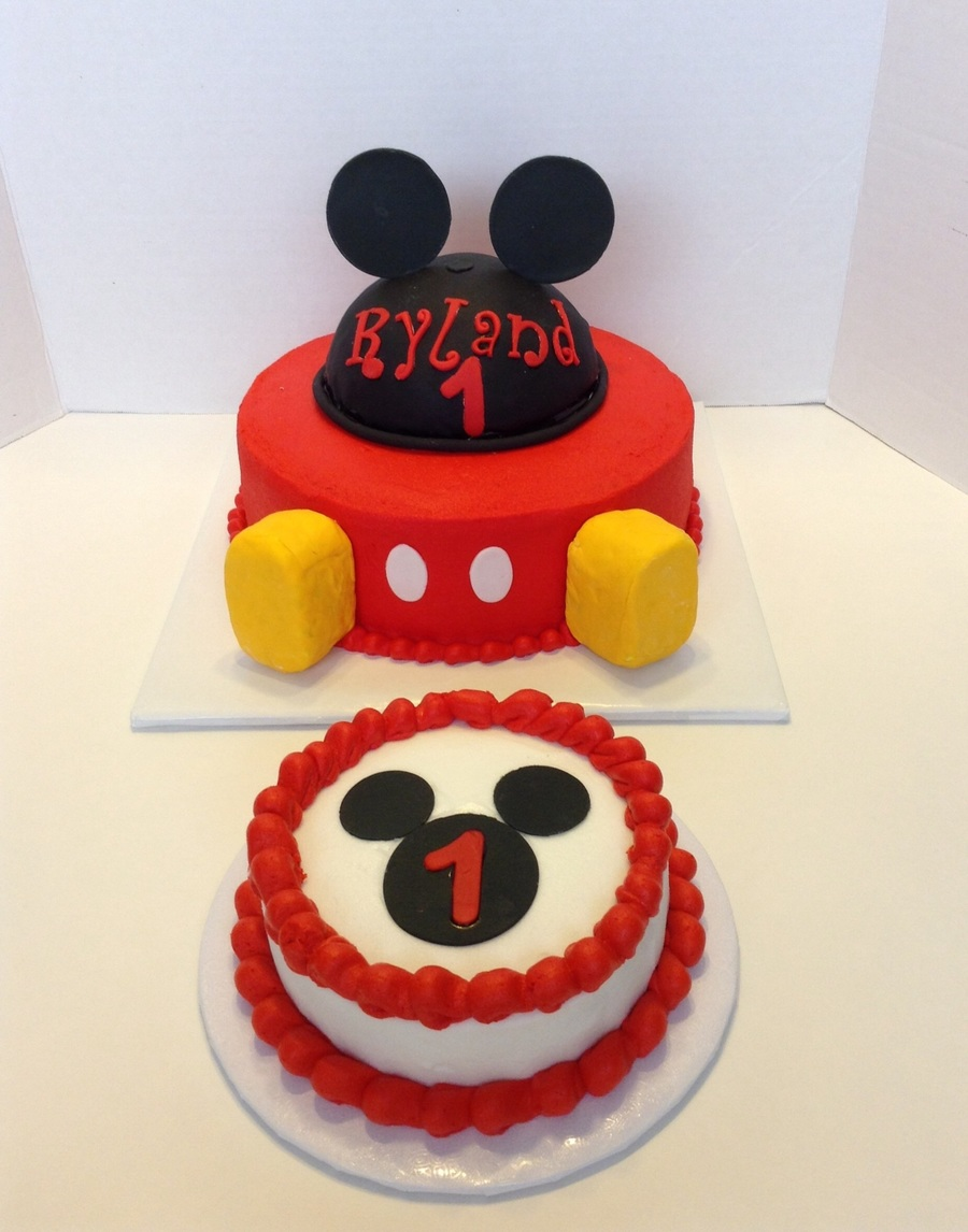 Mickey Mouse First Birthday Cakecentral