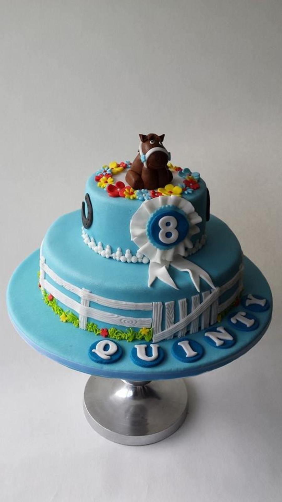 A Cute Horse Cake Cakecentral Com