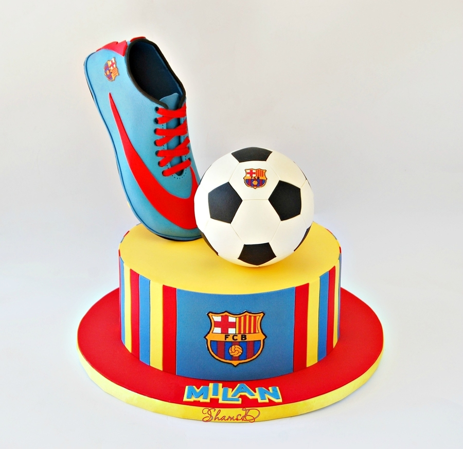 How To Make A Football Boot Cake