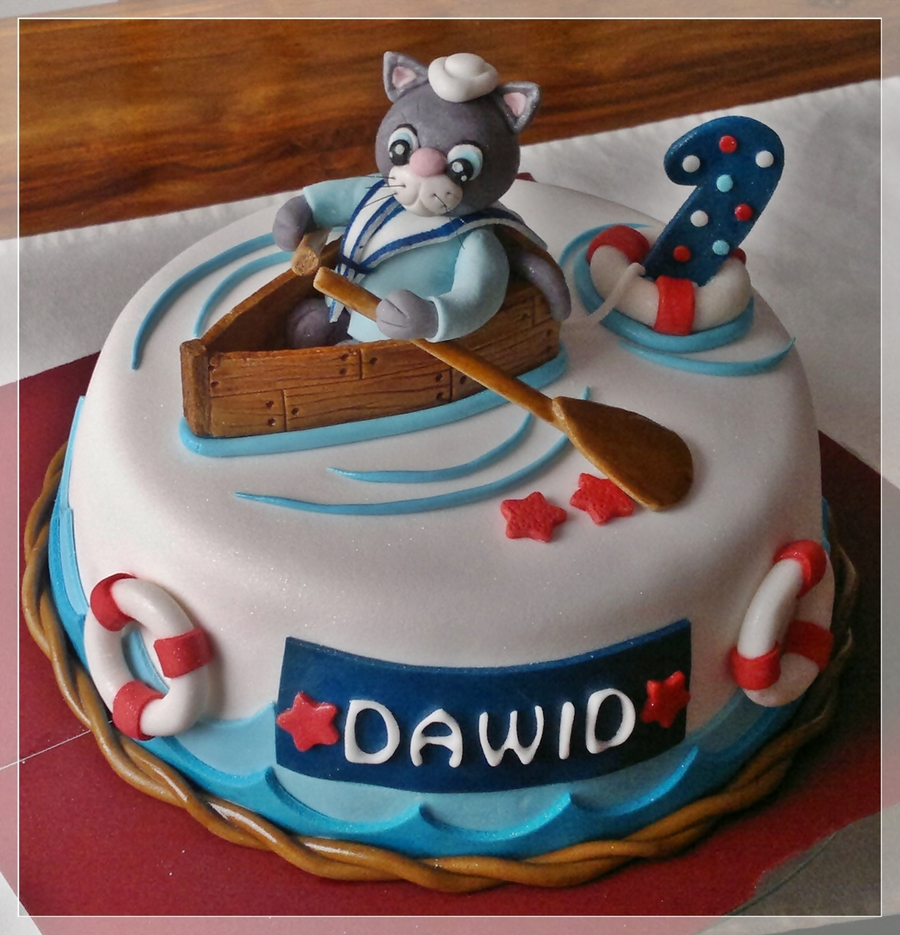 Sailor Cat Cake Cakecentral