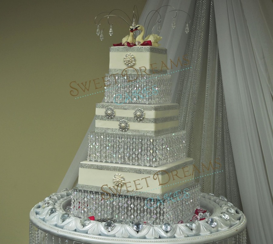 crystal wedding cakes wedding cake cakecentral 3213