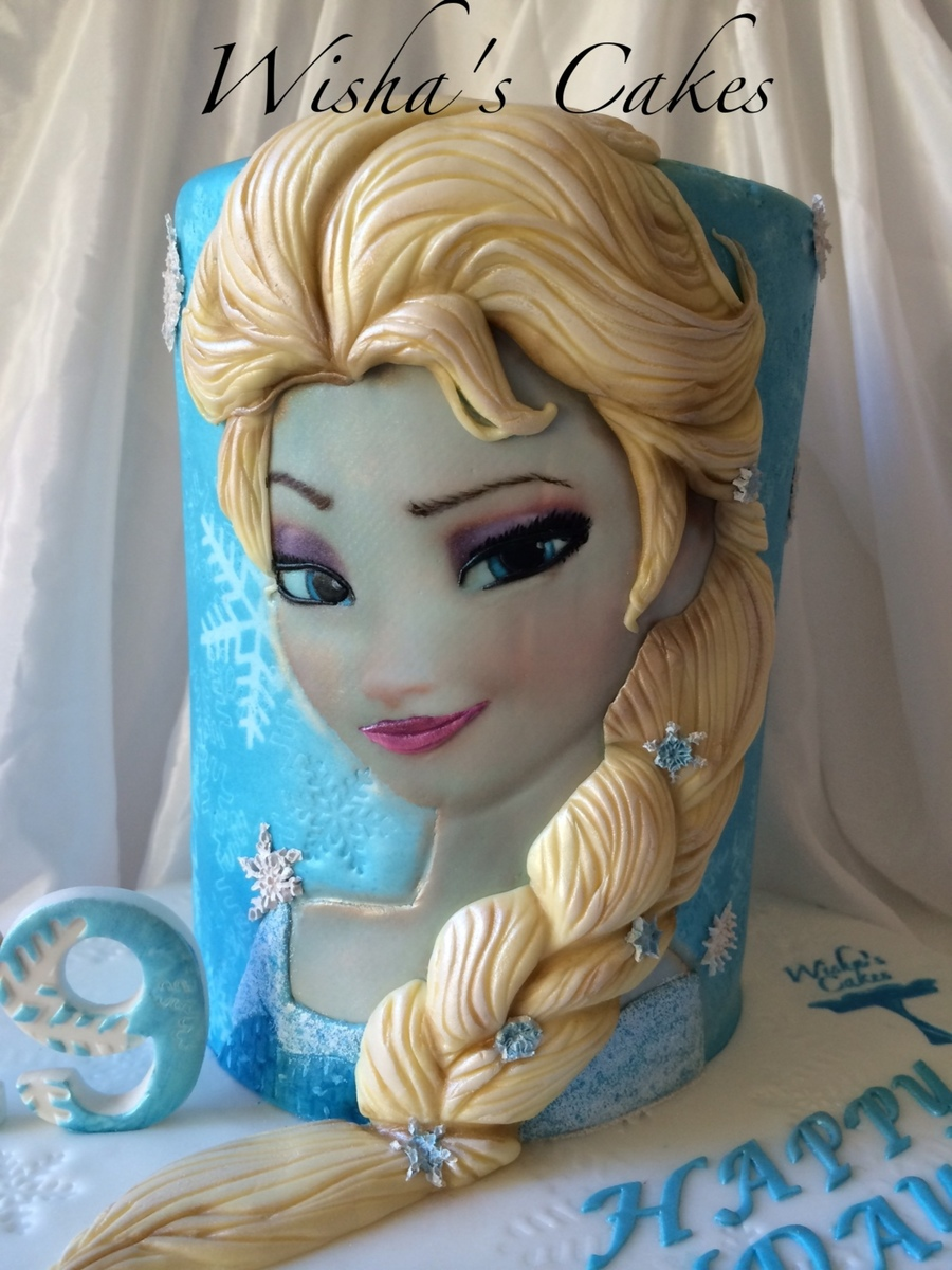 Elsa Cake Cakecentral Com