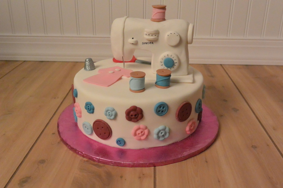 fondant sewing machine tutorial