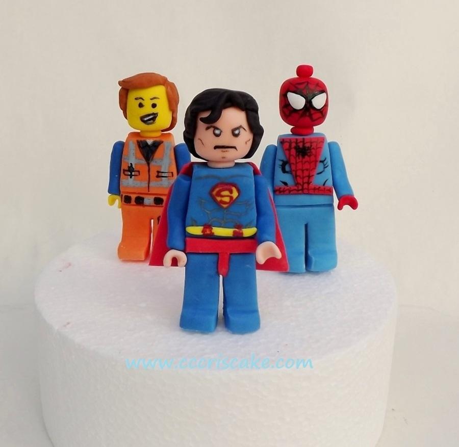 Lego Cake Topper - CakeCentral com