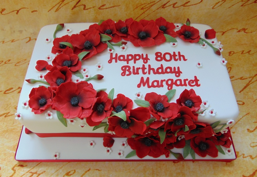 80th Birthday Cakecentral