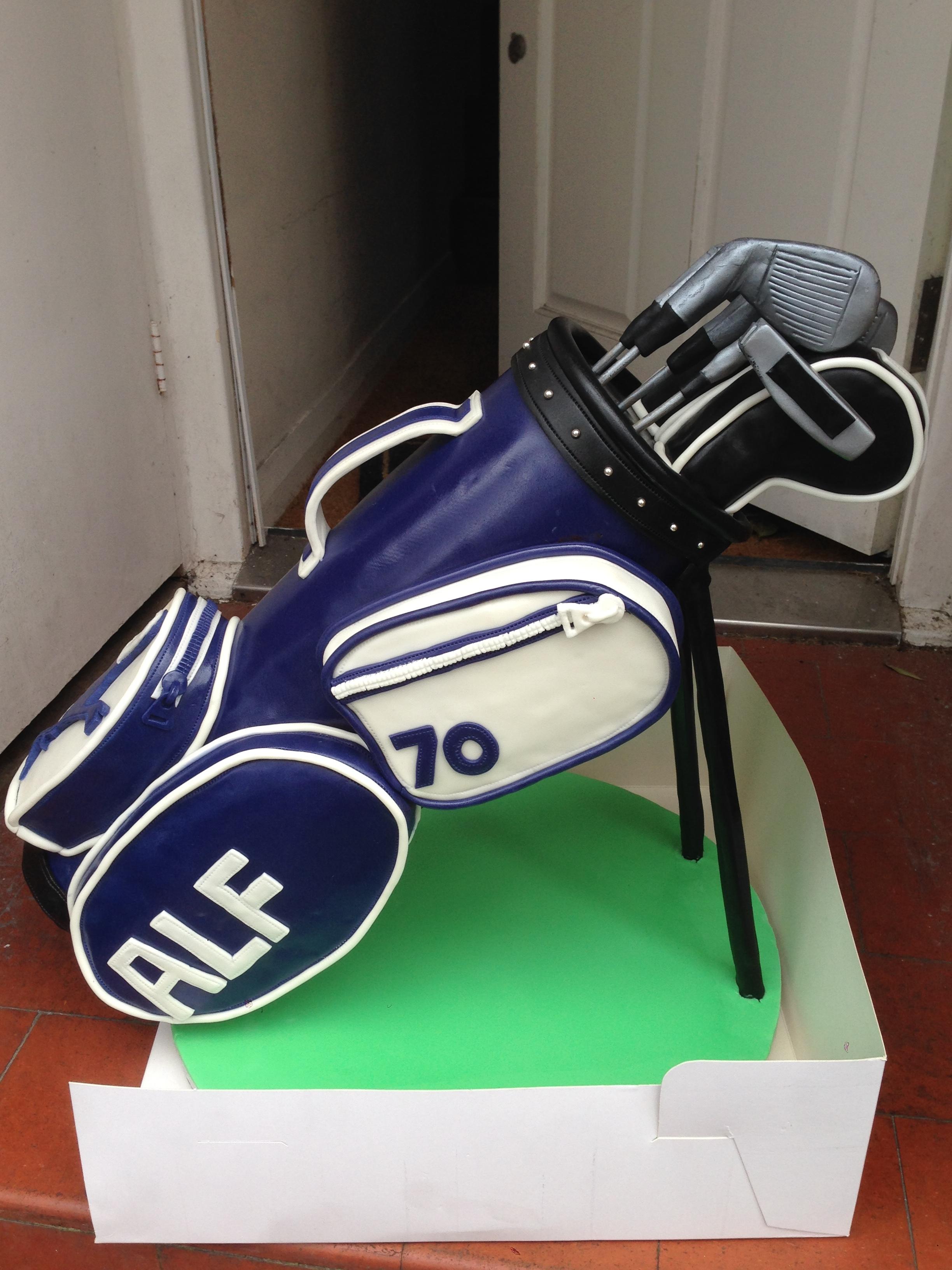 Golf Bag Cake - CakeCentral.com