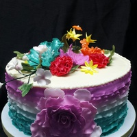 Small Wedding Cake Love the colors