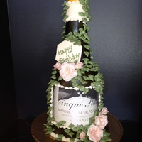 Wine Anyone? Cake created or a wine dinner