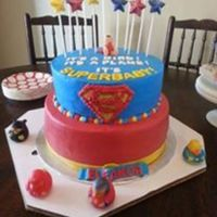 Super Baby Cake All BC, candy melts for stars and fondant baby (which was way too small for the cake. ;)
