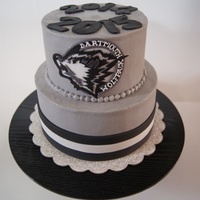 Wolfpack Hockey Cake This cake was made to look like my son's hockey jersey. He is nine years old and we had an amazing season of great kids, parents and...