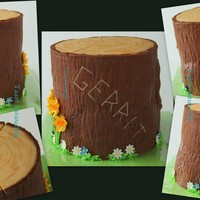 Nature Cake For a farmer who loves nature