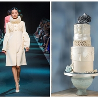 George Hobeika, Cake Central Fassion Issue I was thrilled when Cake Central asked me to create this fashion couture inspired cake.