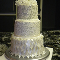 Wedding Cake Made for my cousin's wedding