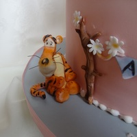 Tigger! One of the decorations from the Winnie the Pooh Christening Cake. I am afraid I am unable to upload the detailed images in the same album...